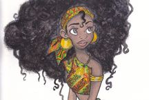 African Cartoon