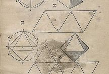 Technical Drawing Geometric Shapes