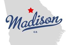 Madison, GA / Madison, Georgia - The Town Sherman Refused to Burn