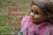 "18"" dolls / by Erin Wyder"
