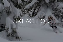 BOGNER SKI ACTION / Bright blue sky, ice, powder, snow, bold colors and loads of action – this is how we celebrate the Bogner way of skiing performance. Get inspired by ski-professionals around the globe and join the Bogner action!   / by Bogner