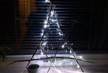 The lighting star made by Vandana Kreation / Made by tree branches and the paper lams. It to easy to do.   For the steps can you just mail me on … vandana.kreation@gmail.com