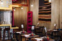 Decoración restaurantes mexicanos