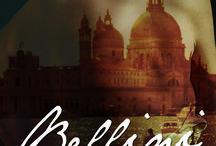 """""""Bellini"""" / La historia de amor de Daniel y Alba. Un amor lleno de pasión, arte, música y Venecia. Ebook disponible en todas las plataformas del mundo a partir del 3 de diciembre de 2015.   Papel: novela incluida en la antología """"Cócteles"""" de Harper Collins Ibérica."""