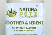 Soothed & Serene / Soothed & Serene is used holistically to relax the autonomic & Central Nervous Systems; as a mild sedative and alternative to benzodiazepine drugs for uneasiness, restlessness, excitability, stomach cramps & spasms; for stress, boarding, grooming, daycare, vet visits, travel, separation anxiety, guests; traumatic events including electrical & thunder storms; scratching, biting, sadness, whimpering, trembling, shivering, panting, pacing, depression, grief & lack of concentration.