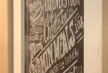 Chalkboard  / by Randi Fox