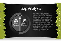 Gap Analysis Graphics / Use this fully editable graphic to illustrate gap analysis, reveal core information, or to showcase other ideas.