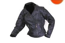 Moto'cycle's jacket's women