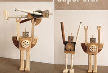 juguetes de madera y juegos infantiles