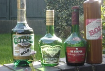 Cocktail liqueurs / Some of the mainly Dutch liqueurs we use specifically for cocktails