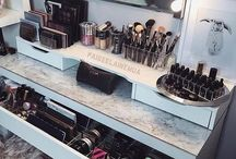 My makeup station