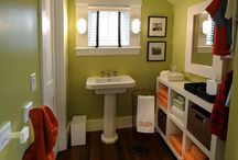 Our green retro tile bathroom (ideas!)