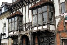 Medieval and Tudor Houses - Inspiration for Miniatures