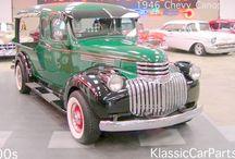 Exterior sun visor for classic trucks / Various exterior sun visors for your classic truck