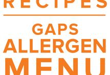 Allergen: GAPS Menu May 2015 / Healing your gut doesn't have to involve boring recipes or extra labor in the kitchen. Plan for success by stocking your freezer with healing and delicious meals like Lamb Stew with Lemon Garlic Yogurt and GAPS friendly favorites like meatballs and stuffed peppers. / by Once A Month Meals
