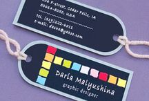 Tag Business Cards / different kind of business card