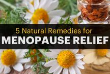 Perimenopause and Menopause Natural Relief / Natural remedies and ideas to aid in relieving symptoms of peri-menopause and menopause.