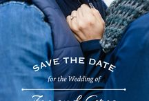 Save the dates {wedding}