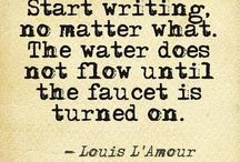 ✩ writers & writing ✩
