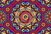 Kaleidoscope and fractals