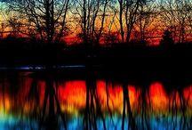 sunset feno