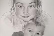 I miei lavori / Ritratti e disegni