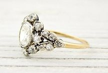 Dream Rings / My favorite wedding rings I would die to get. / by Evelyn Ferry
