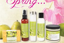 Lemongrass Spa Products / by Stacey Stevenson