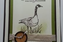 Stampin up Wetlands / Examples of projects  with the stampset Wetlands from Stampin up
