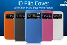 The ID Flip! / The Naztech ID Flip Cover is designed to protect your Samsung Galaxy S4 from scratches and dings, without adding bulk and while preserving the phone's slim profile! / by Naztech