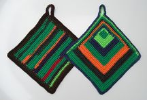 Häkelprodukte / handgehäkelte Produkte wie Topflappen ect. von Knitteltante