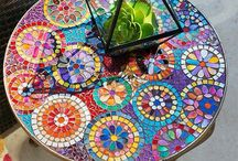 FF Garden Furniture / Tiled Table