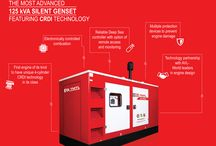 125 kVA Silent Genset / The most advanced Silent Genset series in its class