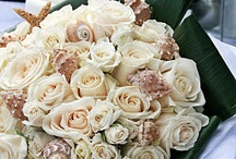 Beach wedding / Beach theme wedding ideas. Beach wedding bouquets, ceremony decorations and table centrepieces.