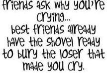Friend quits