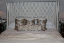 BEDDING AND HEADBOARDS / Custom comforters, duvets, coverlets, bedspreads, nursery, and upholstered headboards