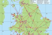 Ley Lines~Energy Grids/Portals ....... / Healing Energy lines, connecting at points all over Planet Earth ......
