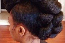Chic Natural Updos / Fancy updos for natural hair