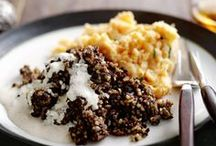 haggis claps hot and whisky sauce