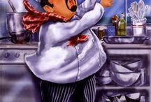 chef decoupage/ aşçılarr...