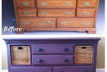 Lila dresser