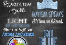 Light it up BLUE / Autism Awareness