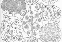 COLORING PAGES FOR BIG AND SMALL