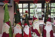 conos navideños moldes