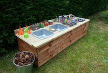 Reggio outdoor ideas