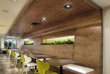 Office design food court