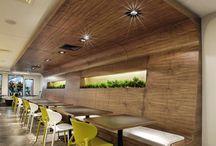 Office design food court