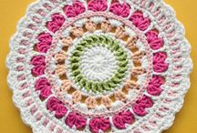 Boho Crochet Patterns / Crochet Patterns for Boho Style. Mandala crochet patterns, Crochet Wall Hangings, a bit of Macrame DIY instructions snuck in, Boho crochet decor, crochet afghans boho, boho crochet blanket patterns, boho crochet poncho patterns, and more!