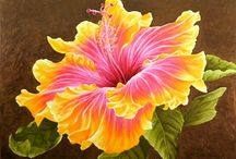 Hawajskie kwiaty