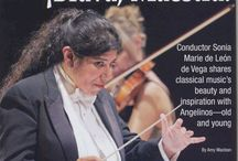 Publicity / News Articles on the Santa Cecilia Orchestra and its mission